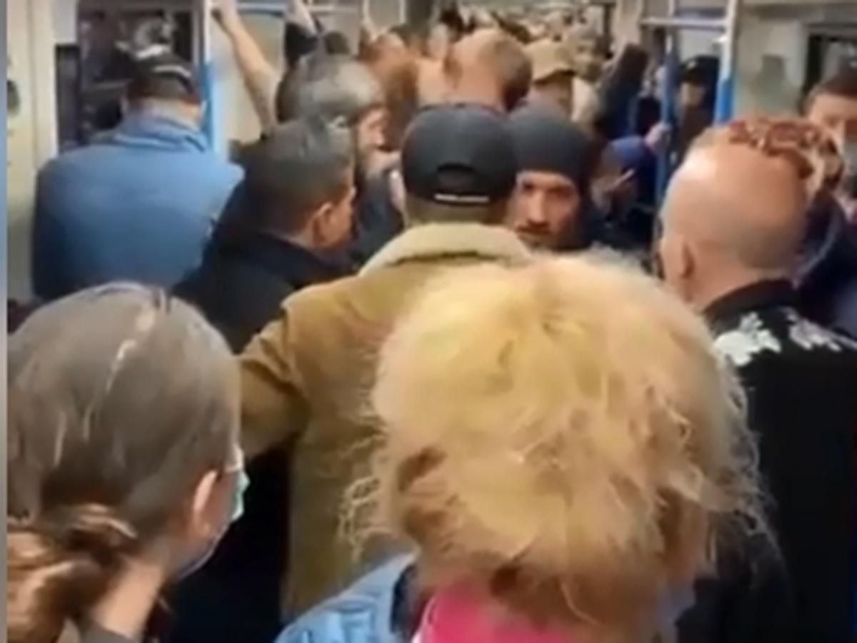 Конфликт в метро