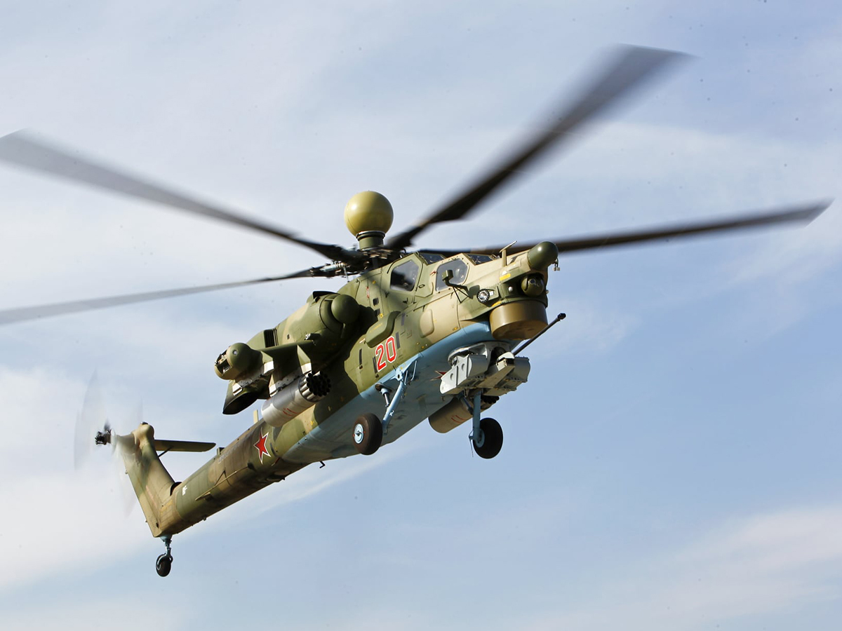 Российские вертолеты Ми