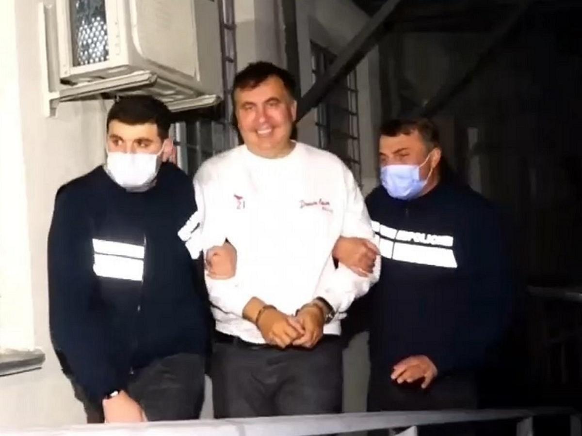 Стало известно, как Саакашвили попал в Грузию