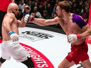 Минеев нокаутировал Исмаилова, защитив титул AMC Fight Nights