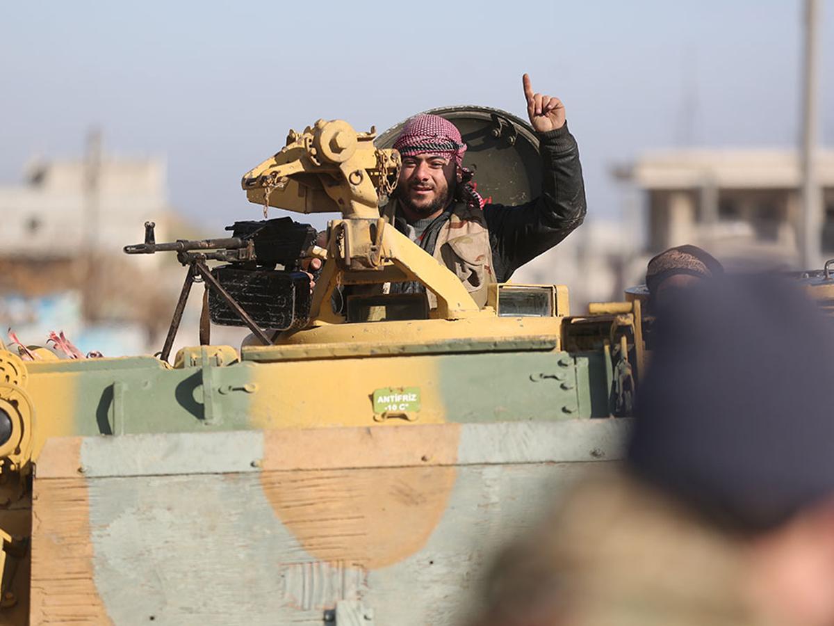 Путин Эрдоган войска Идлиб