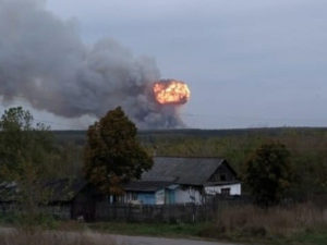 Пожар Рязань