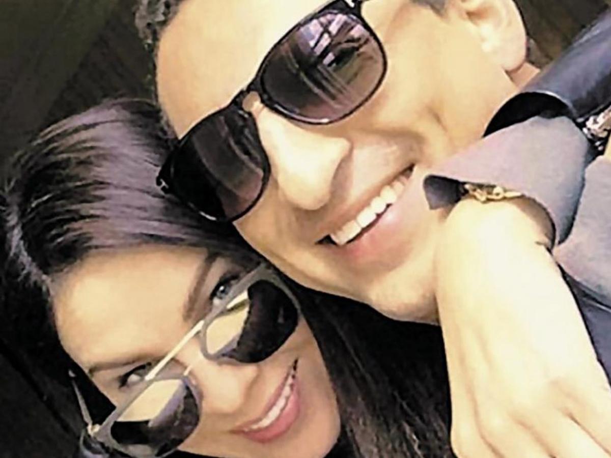Шамалов с женой Жанной