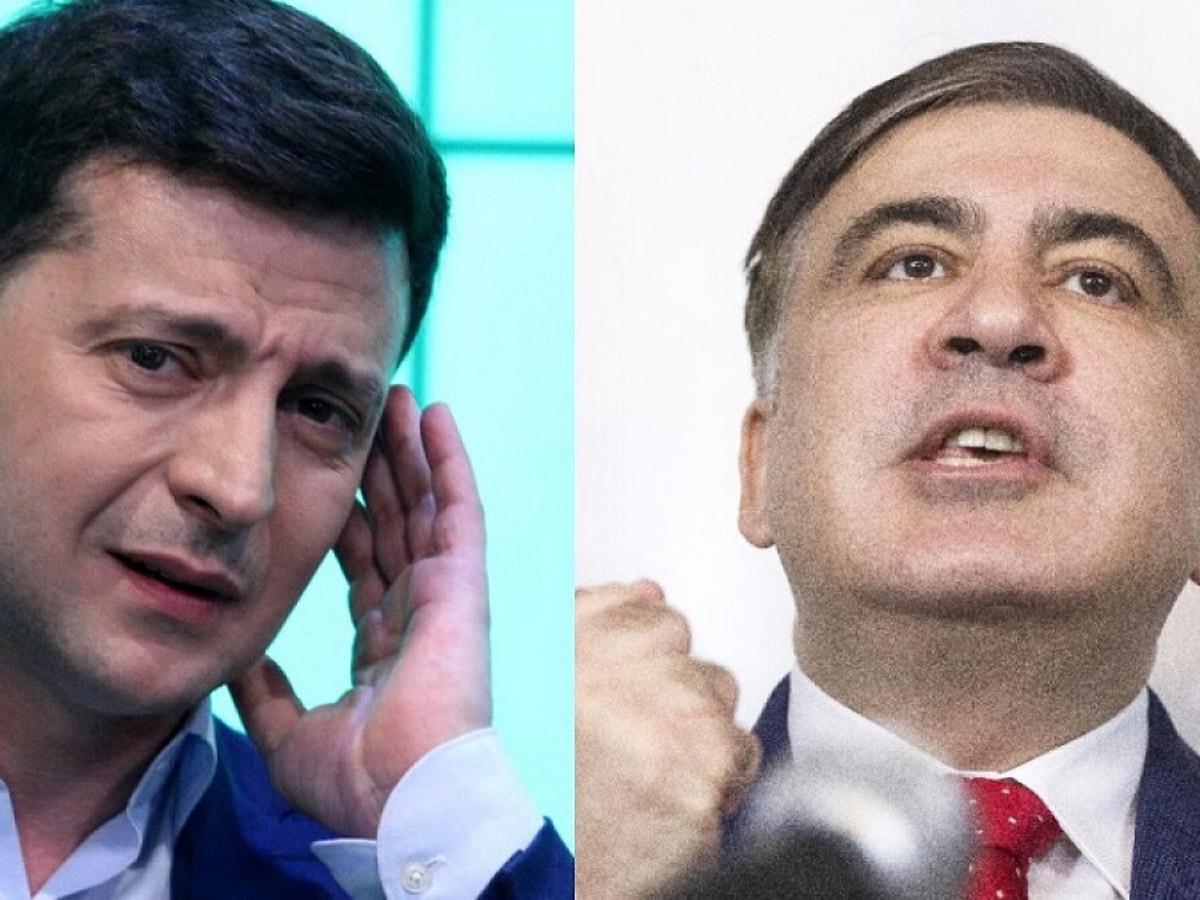 Саакашвили на Путина Зеленскому