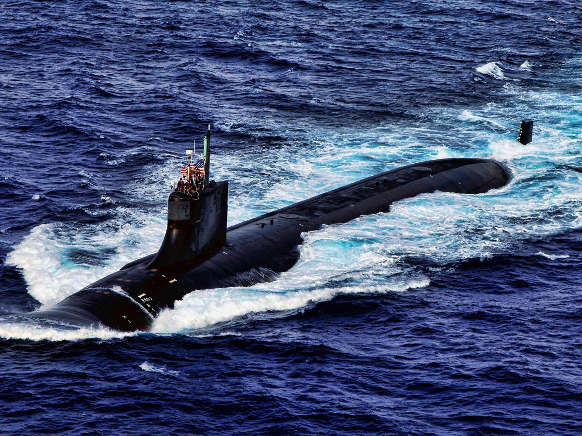 Субмарина «USS Connecticut» США