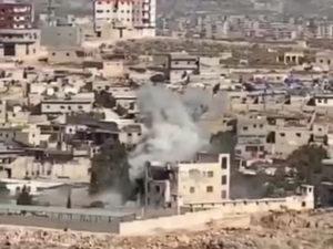 Удар ВКС РФ в Сирии