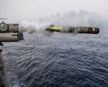 Российские военные потеряли торпеду