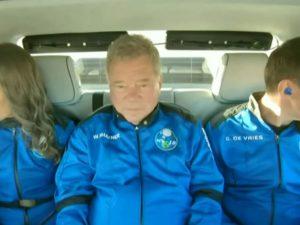 Глава Amazon отправил в космос корабль с 90-летним актером из «Звездного пути»