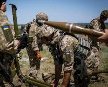 Украина штурм Донбасса