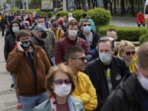 В Белоруссии отменили маски