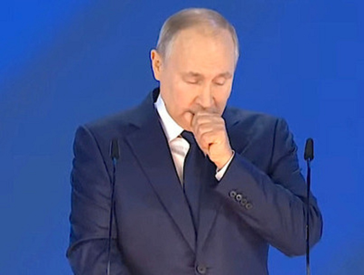 Путин объяснил, почему кашлял на совещании с членами Совбеза