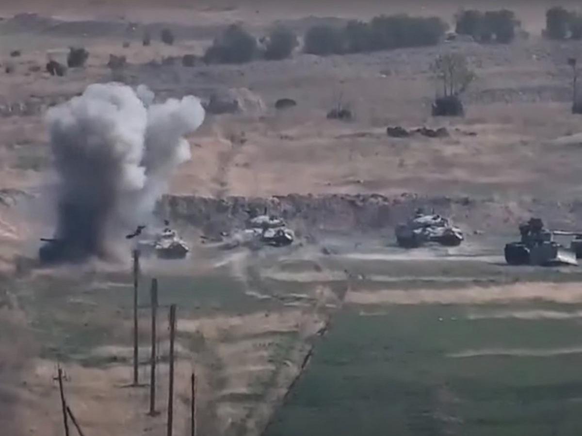 Азербайджанские военные убили российского миротворца