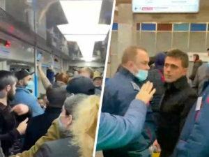 Москвичка из свидетеля стала обвиняемой по делу с кавказцами в метро Москвы