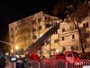 В Сети появилось видео момента взрыва вдоме вНабережных Челнах