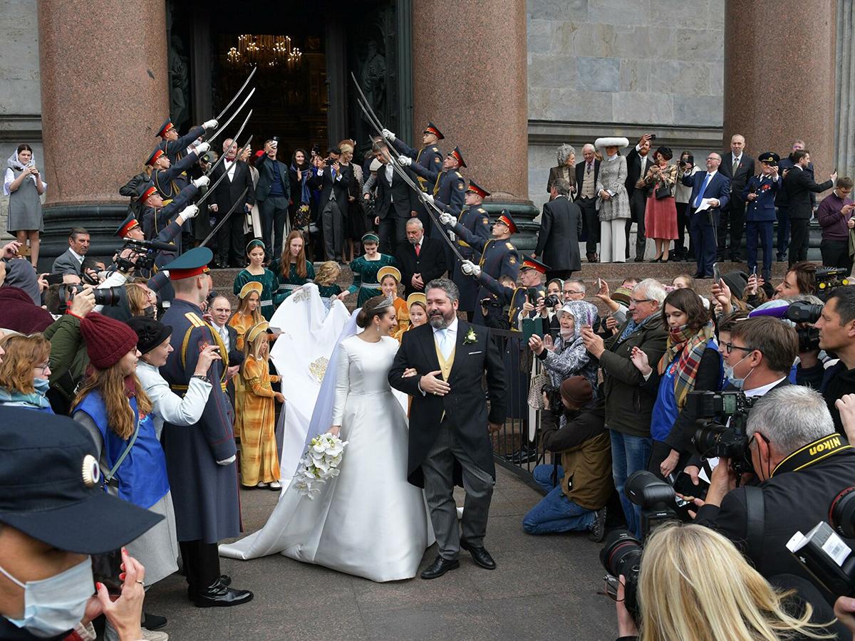 Венчание Романовых
