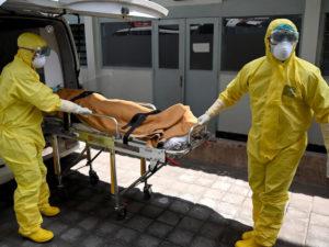 коронавирус смерти