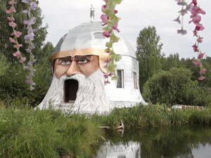 Дом в виде головы богатыря из сказок Пушкина выставили на продажу