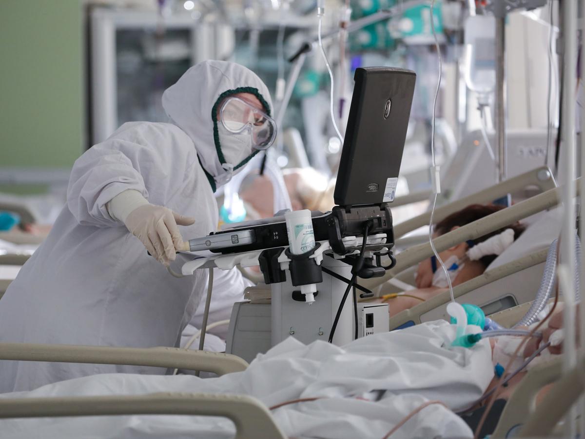 пациенты COVID-19 быстрая реанимация