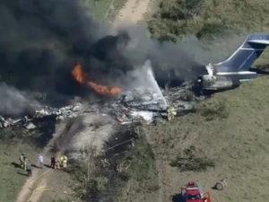Авиакатастрофе в Техасе: на борту резнувшего самолета находились 21 пассажир