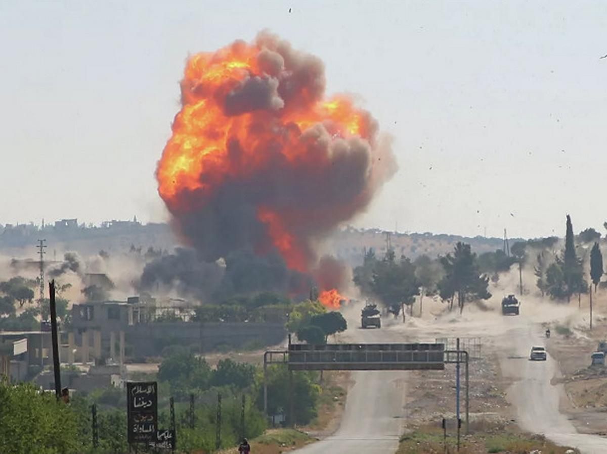 Взрыв в Идлибе
