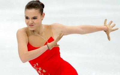 Аделина сотникова занимает 2 е место