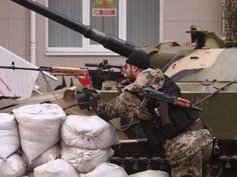 ВС Новороссии уничтожили БТР силовиков