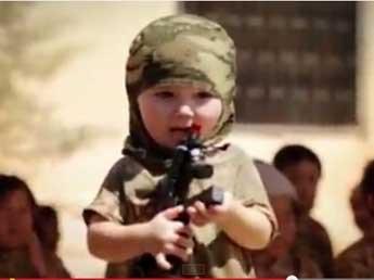 """ООН: """"Исламское государство"""" вербует пятилетних детей"""