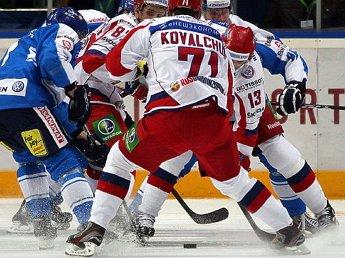 Сборная Россия завоевала Кубок Первого канала, обыграв Чехию со счетом 3:2