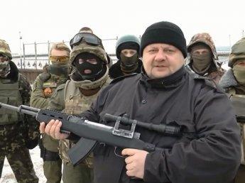 Украинский депутат Мосийчук оскорбил Рамзана Кадырова и расстрелял его фотографию