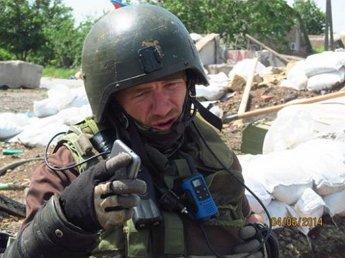 Моторола провел встречу с комбатом ВСУ в аэропорту Донецка