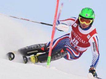 Россиянин Александр Хорошилов сенсационно победил на этапе Кубка мира по горнолыжному спорту
