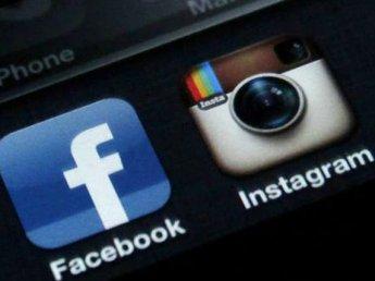 """СМИ сообщили о """"падении"""" Facebook и Instagram"""