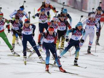 Российские биатлонисты неудачно выступили на этапе Кубка мира в Рупольдинге