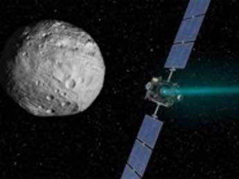 Зонд NASA сфотографировал загадочное белое пятно на планете Церера