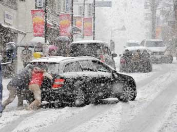 Москву на выходных завалит снегом