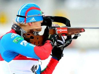 Российские биатлонистки снова провалились на Кубке мира