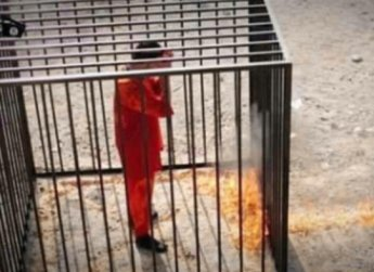Боевикии ИГИЛ сожгли заживо иорданского пилота