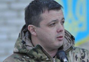 Командир батальона «Донбасс» Семенченко попал в ДТП после контузии