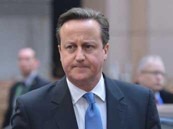 Британский премьер Кэмерон назвал условия отмены санкций против РФ