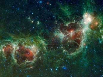 Астрономы получили цветные фото крупнейшего галактического ДТП по Вселенной