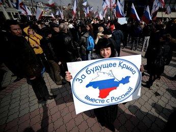 Forbes: большинству крымчан нравится присоединение к России