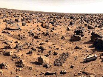 На Марсе нашли таинственные белые объекты