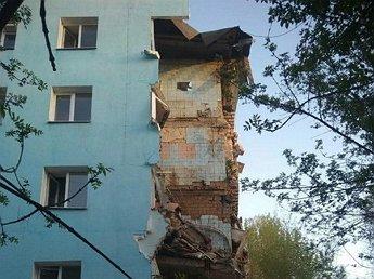 В Саратове произошло частичное обрушение пятиэтажного дома
