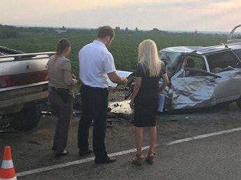 Cмертельное ДТП на Кубани с 9 погибшими попало на видео