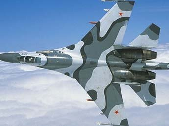 Видео перехвата самолета-разведчика США российским Су-27 появилось в Сети