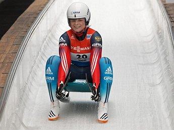 Российская саночница Виктория Демченко разбилась на этапе Кубка мира (ВИДЕО)