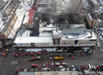 Пожарных, тушивших «Зимнюю вишню»  в Кемерове, оправдывает начальство