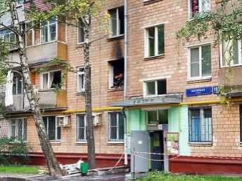 В Москве в жилом доме прогремел взрыв: момент ЧП попал на видео