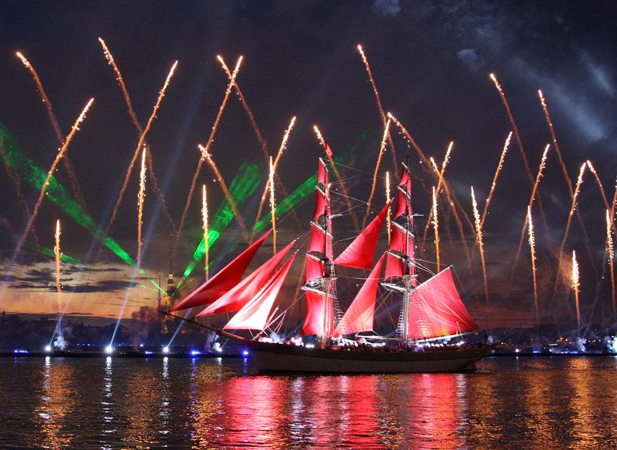 Алые паруса 2019: дата проведения в Санкт-Петербурге, время, расписание, программа