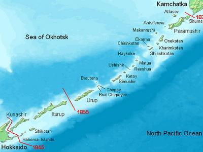 Япония согласится напередачу 2-х островов Курильской гряды изчетырех